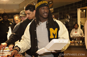 Mizzou Football Thanksgiving Dinner