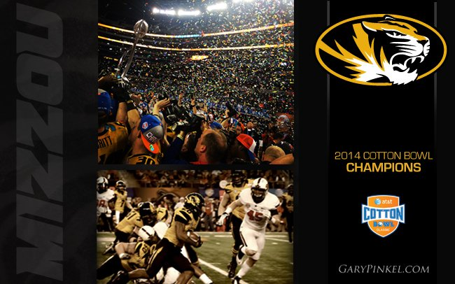 Mizzou Wins 2014 Cotton Bowl