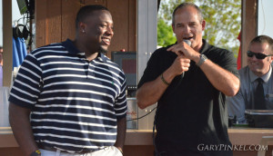 Gary Pinkel and Marvin Foster