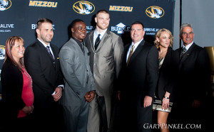 Mizzou Sports Hall of Fame Ceremony