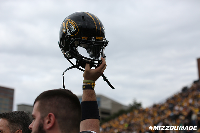 Mizzou Football prepares for kick-off as the Tigers face the Vanderbilt Commodores in Vanderbilt Stadium on Saturday, October 24, 2015 in Nashville, Tenn.